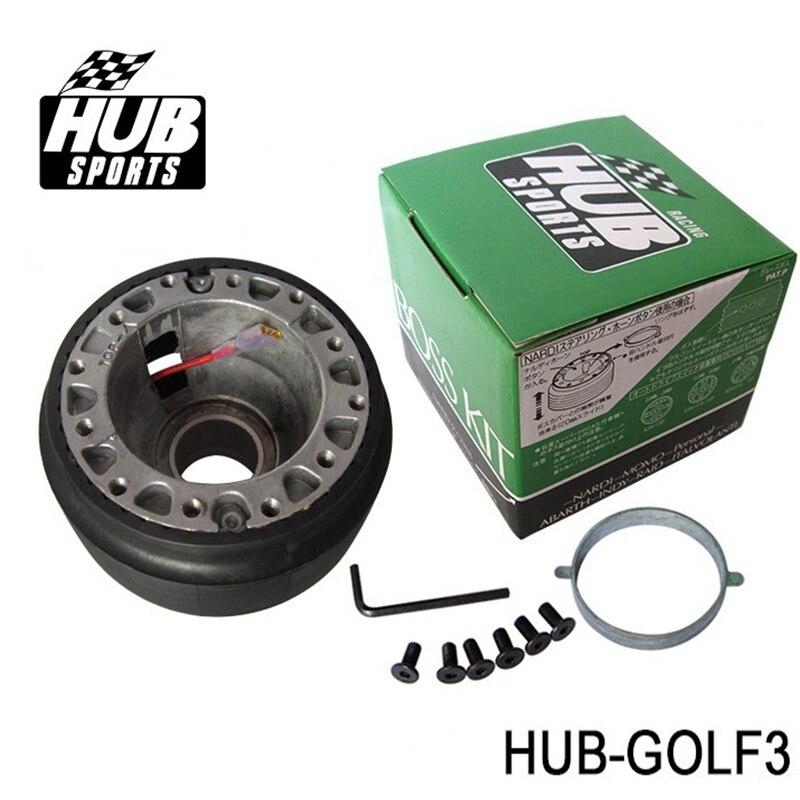 Adaptateur de moyeu de KIT de patron de volant adapté pour Volkswagen VW Golf MK3 HUB-GOLF3