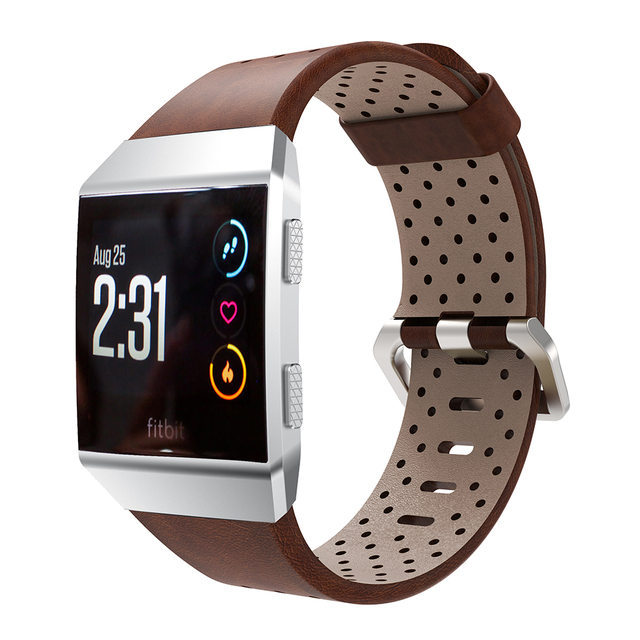 Fitbit Ionic Leather Strap