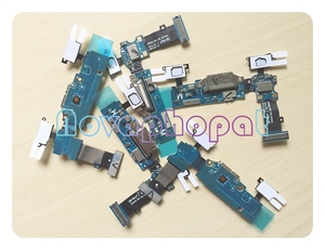 Image 4 - Novaphopat charging flex for Samsung s5 G900F G900H G900F charger connector Micro usb dock port flex cable Microphone 10pcs/lot