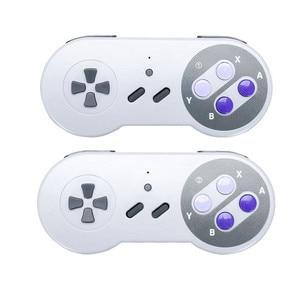Image 3 - Mini ręczny telewizor z dostępem do kanałów i HDMI gra wideo konsola do gier podwójny 2.4G bezprzewodowy kontroler do gier 8 Bit Retro odtwarzacz z 500 w 1 klasyczne gry