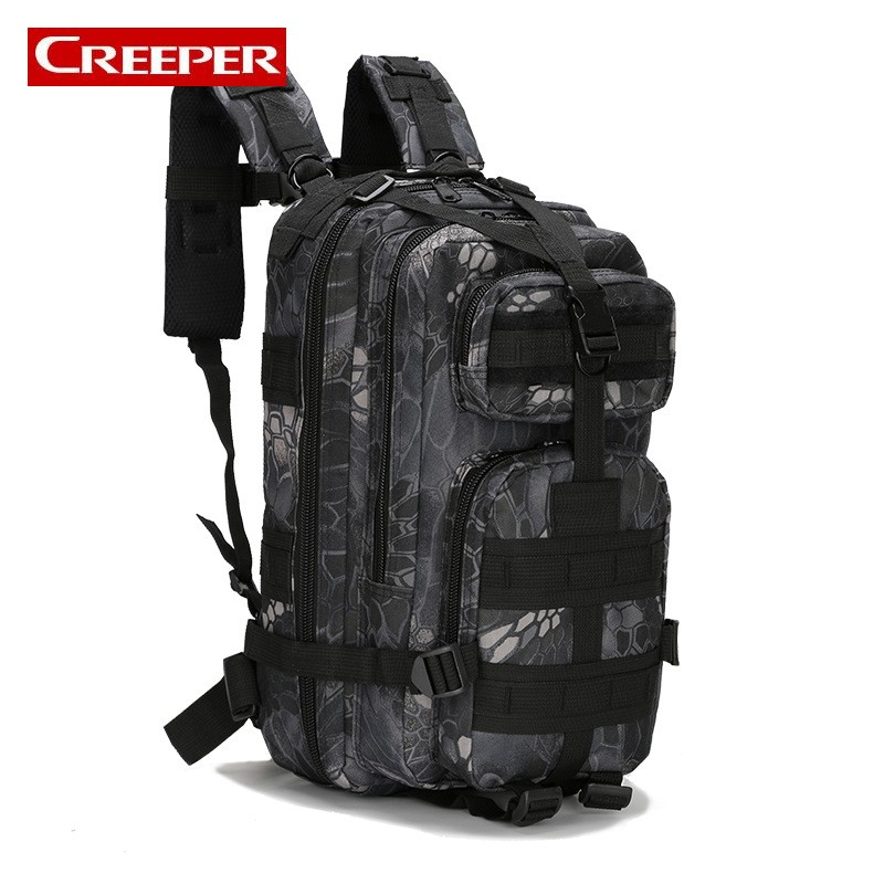 25L Military Tactical Assault Pack Backpack Army Molle Waterproof Bug Out Bag Small Rucksack for Outdoor Hiking Camping Hunting 40l tactical molle backpack military assault pack waterproof rucksack hiking camping travel large school lantop backpack