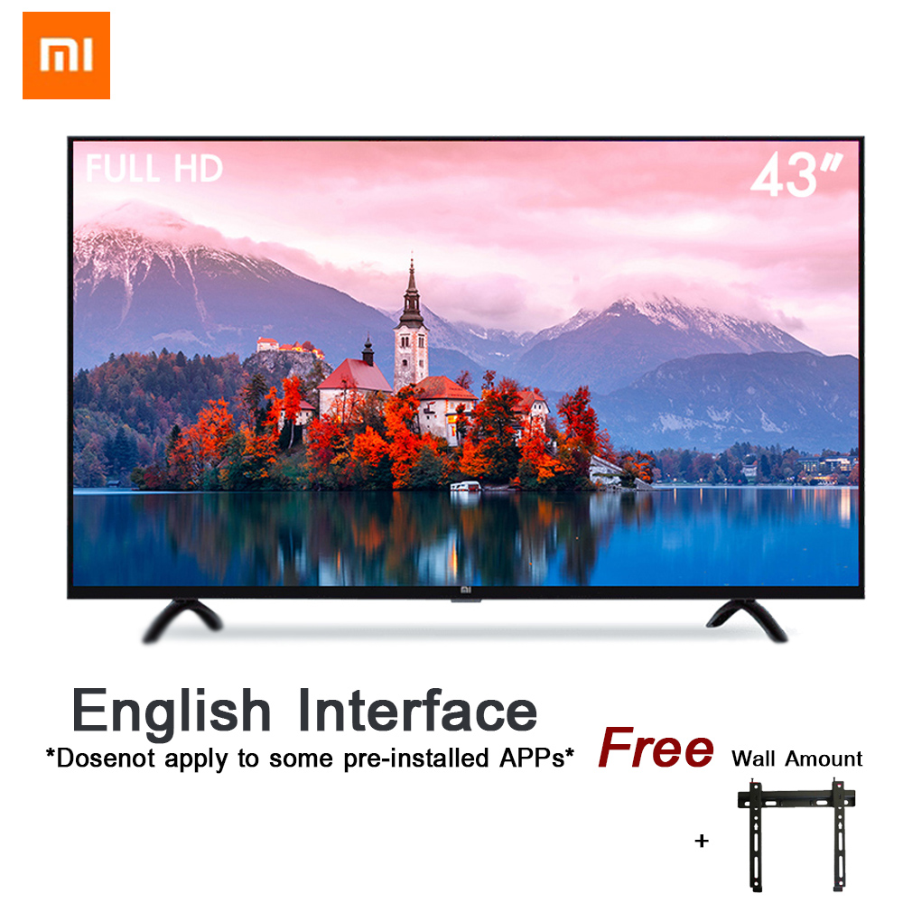 Xiaomi Smart 4A 43 pollici 1920*1080 FHD Schermo Full HD TV Set HDMI WIFI Ultra-sottile 1 gb di Ram 8 gb di Rom Gioco Display Dolby Sound
