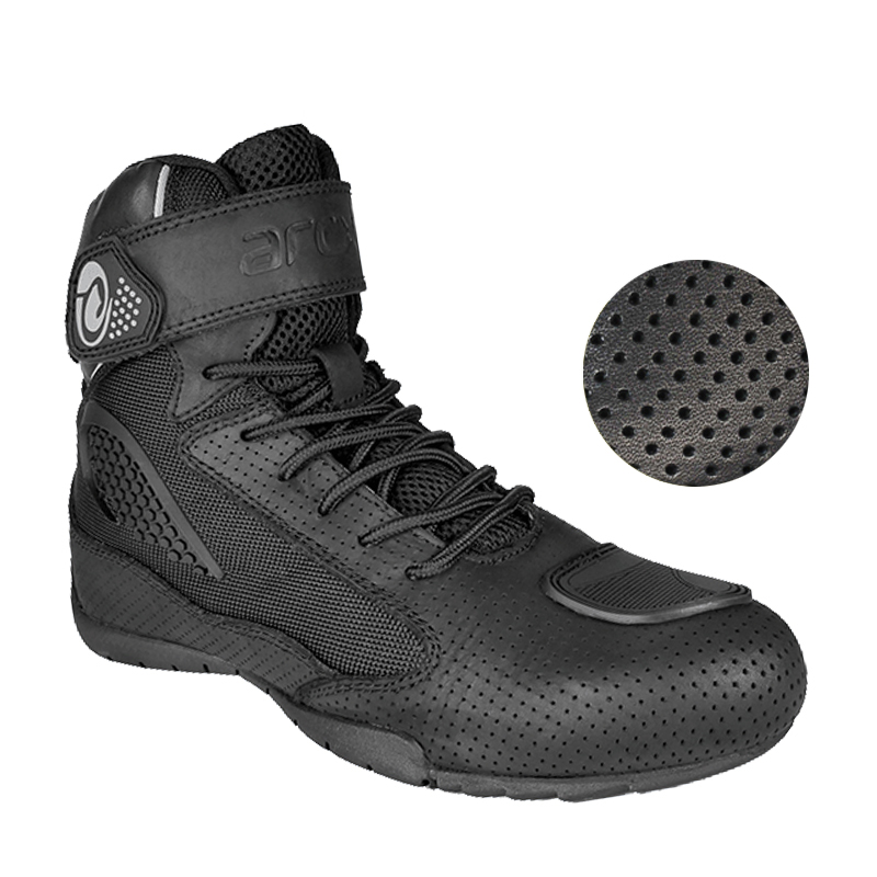 ARCX Motorcycle Boots men Moto Racing Boots breathable Summer Shoes Motorbike Biker Chopper Cruiser Touring Ankle