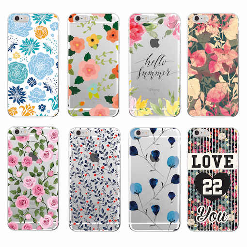 Floral Flowers Rose Daisy Cherry Blossom Trendy Fashion Cute Soft Phone case For Samsung Galaxy J5 A5 S8 S8PLUS  S9 S7 edge