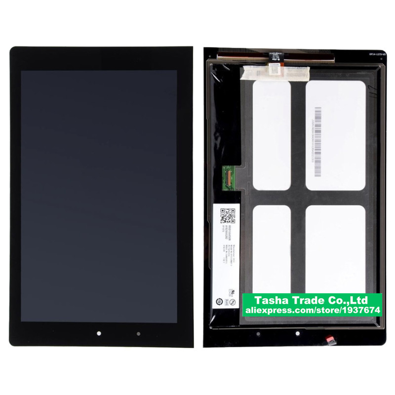 For Lenovo 10 yoga 8 B8080 B8080-F B8080-H Touch Screen Panel Digitizer Glass LCD Display Assembly 32001923-01 claa101fp08 for lenovo yoga tablet 2 1050 1050f 1050l new full lcd display monitor digitizer touch screen glass panel assembly replacement