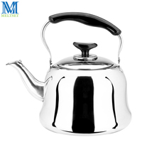 4L 5L 6L Stainless Steel Water Kettle For Gas Stove Automatic Whistling Tea Kettle Anti Scald