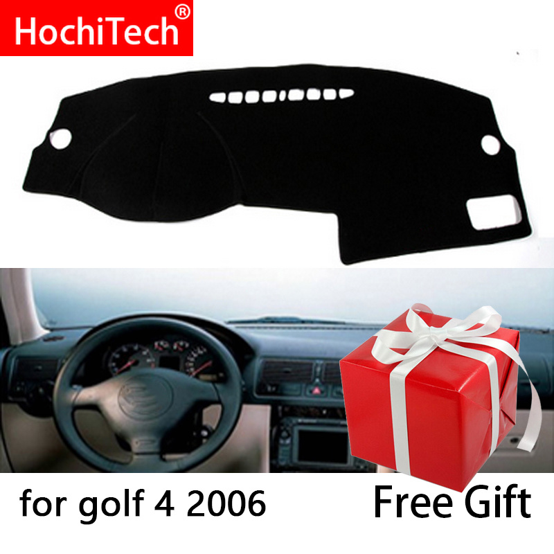 For <font><b>Volkswagen</b></font> <font><b>GOLF</b></font> <font><b>4</b></font> <font><b>MK4</b></font> 1997-2003 Right and Left Hand Drive Car Dashboard Covers Mat Shade Cushion Pad Carpets Accessories image