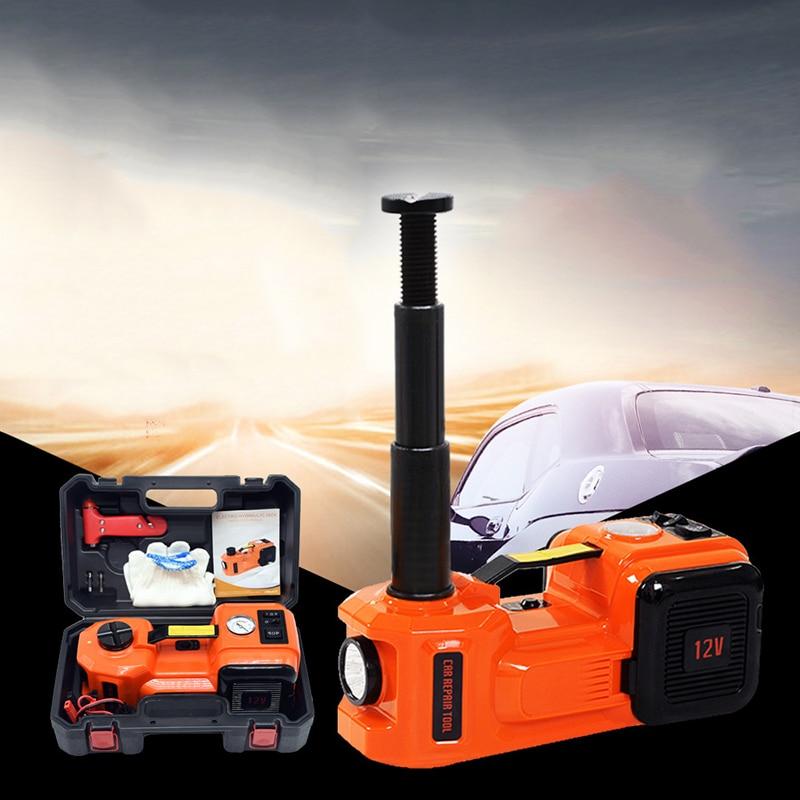 12V car electric hydraulic jack car version 36CM air pump tire change tool 135 360mm