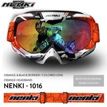 Motocross Goggles Motorcycle Helmet Shield Visor Moto Casco Gafas Nenki 1016
