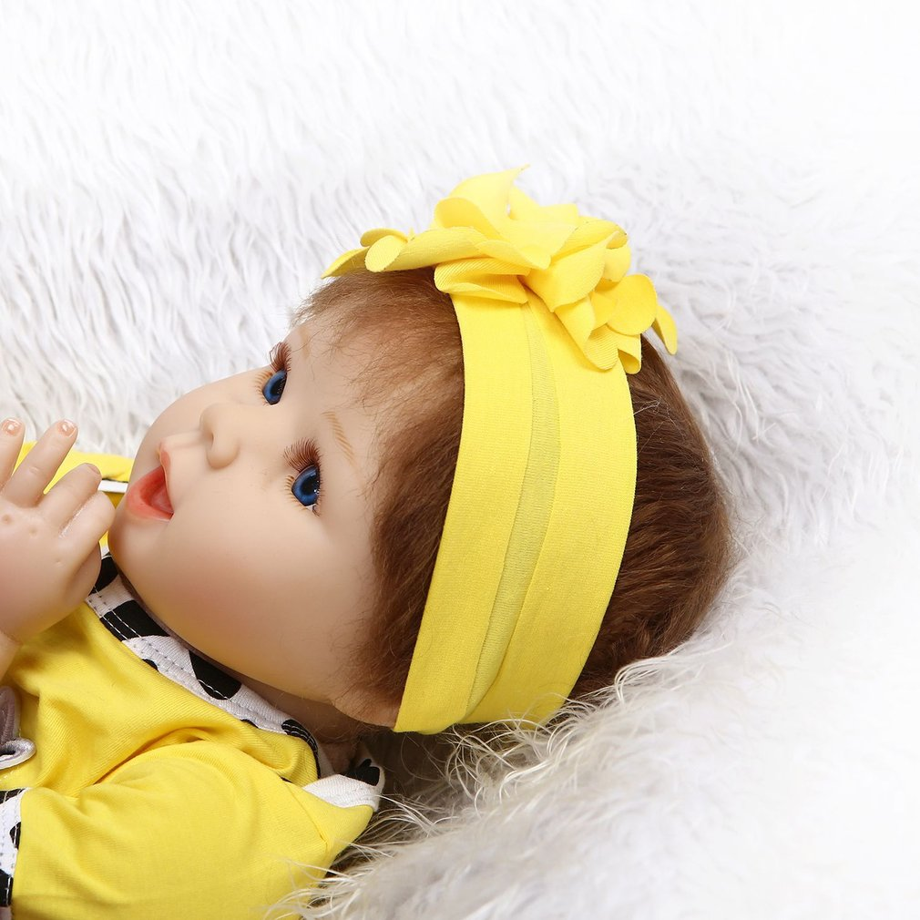 55cm Soft Silicone Vinyl Baby Doll Non-toxic Safe Toys Handmade Adorable Lovely girls Cute Lifelike Playmate American Baby Doll55cm Soft Silicone Vinyl Baby Doll Non-toxic Safe Toys Handmade Adorable Lovely girls Cute Lifelike Playmate American Baby Doll