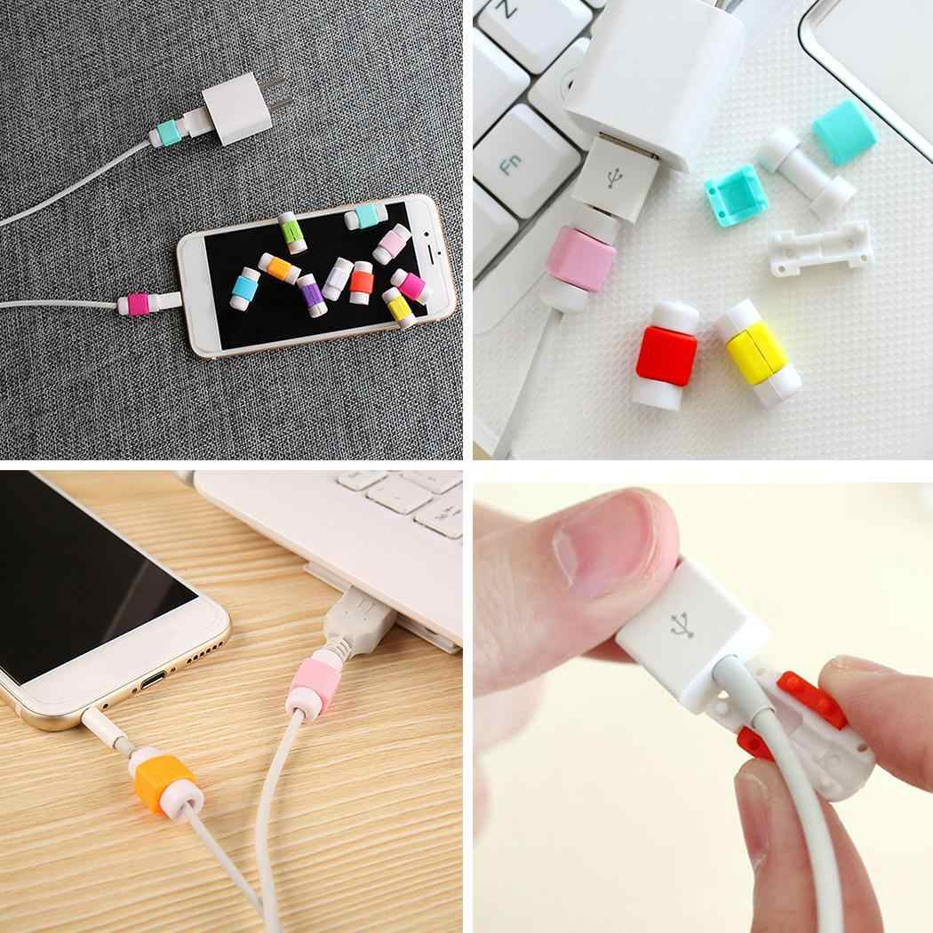 Cover Line USB Prevents Phone Protector from Case Protective Anti cable Random Data Cable Breaking disconnect