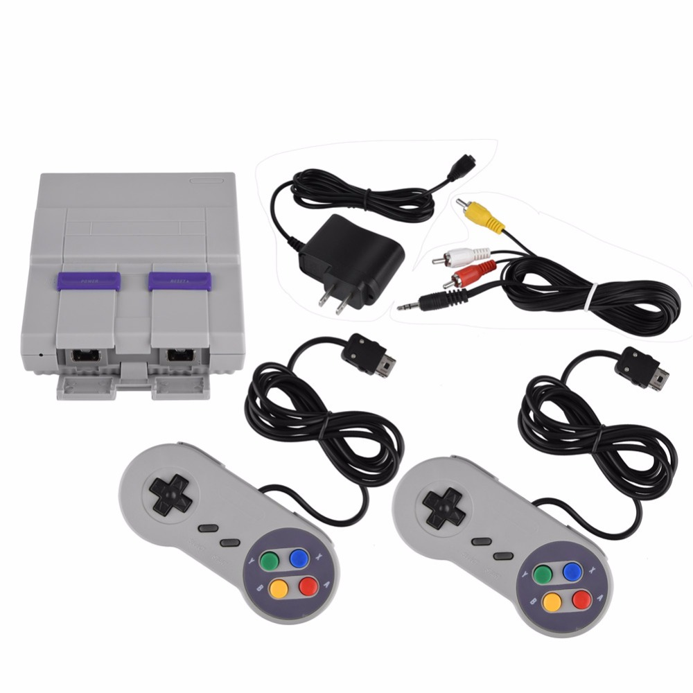 Household 16 BIT Built in 94 Games Console System with Gamepad for SFC for SNES Nintendo