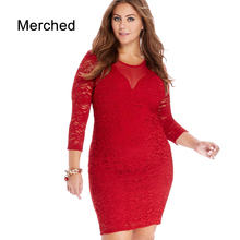 Merched Sexy Mesh Patchwork Party Dress Women Lace Up Straight Mini Dress Cut Out Vestidos de fiesta 5XL 6XL Plus Size Evening
