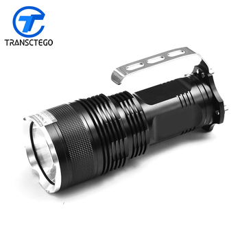 super xenon flash light rechargeable flashlight hunting far range yellow light outdoor high power bright powerful searchlight