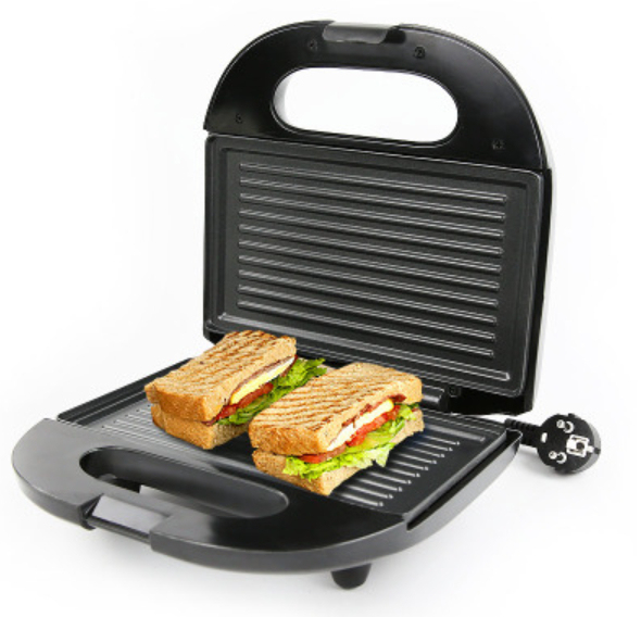 Electric Egg Sandwich Maker Mini Grilling Panini Baking Plates Toaster Multifunction Non-Stick waffle Breakfast Machine EU 1
