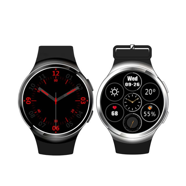 Finow X3 Плюс Android 5.1 Мода Smart Watch Phone MTK6580 1 ГБ + 8 ГБ Поддержка WAPI 3 Г WIFI СИМ-Карты Bluetooth Smartwatch