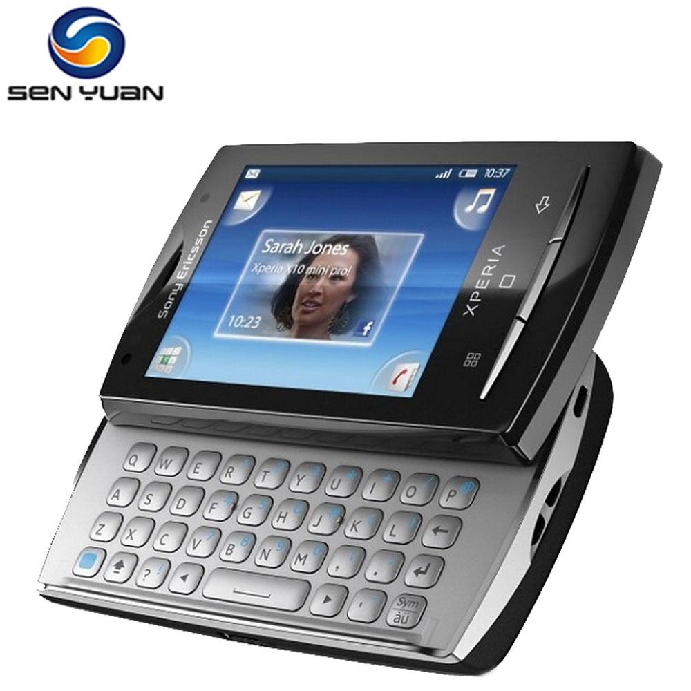 Original Unlocked Sony Ericsson Xperia mini pro sk17i mobile phone 5MP  Camera 3G WIFI GPS SK17