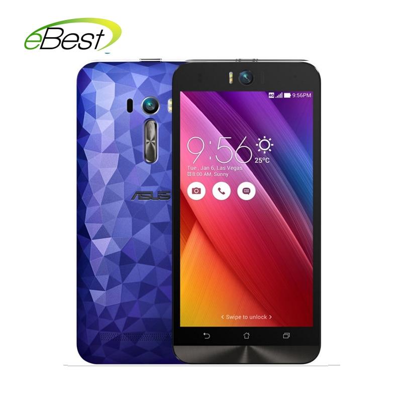 Original Asus Zenfone Selfie ZD551KL mobile phone 4G lte 5.5 Dual 13.0MP camera Snapdragon 615 3GB RAM 16G ROM smartphone