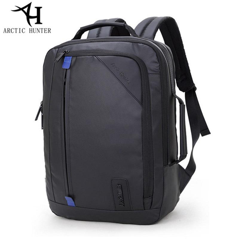 ARCTIC HUNTER New Huge Capacity Waterproof backpack men 15.6 inch laptop backpacks Business travel back pack & Hand bag Dual use