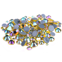 CitrineAB Color 20 1440pcs Hotfix Rhinestones Crystal Rhinestone With Glue Backing Iron On Perfect For Clothes