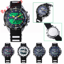 Men Military Watches Sport Wristwatch Silicone Fashion Hours Quartz Watch #3348 Brand New High Quality Luxury Free Shipping