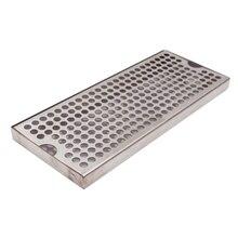"""Oberfläche Montieren Drip Tray Keine Ablauf, 12 """"L x 5"""" W x 3/4 """"H, 304 Edelstahl, Homebrew Bier Drip Tray"""