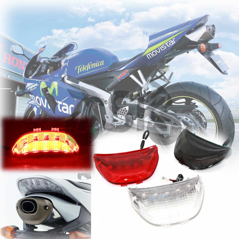 LED Integrated Rear Tail Brake Light With Turn Signals