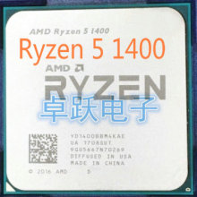 AMD Ryzen 5 1400 3.2 GHz Quad-Core CPU Processor Socket AM4 free shipping