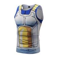 Dragon Ball Z Tight Tank Tops Men Sleeveless Vest Summer Style Jersey 3D Print Shirt 5