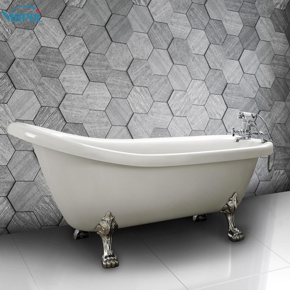 Aliexpress.com : Buy UK shipping Freestanding Traditional Bath Tub ...