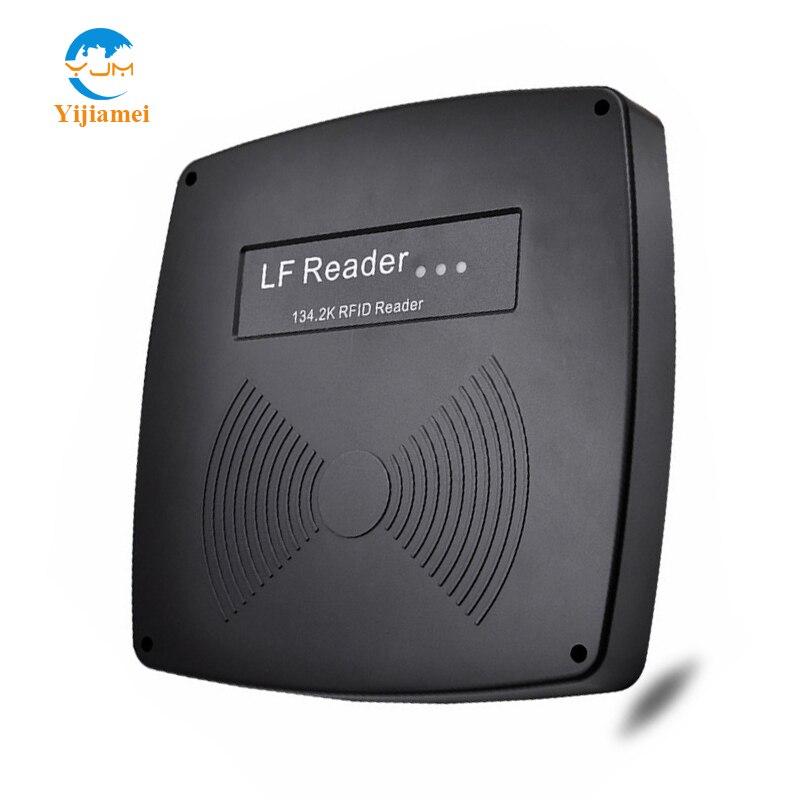 Lecteur de longue distance Animal rfid lecteur e-tag avec ISO11784/11785 134.2 KHz fréquence de travail YJ600