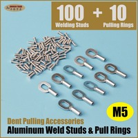 Dent Pulling Accessory Aluminium Weld Studs And Pulling Rings AS 110