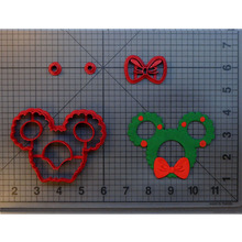 Cute Wreath Cookie Cutter set Custom Made 3D Printed Fondant Cupcake Top Cutters Set Cake Decorating Tool Molds