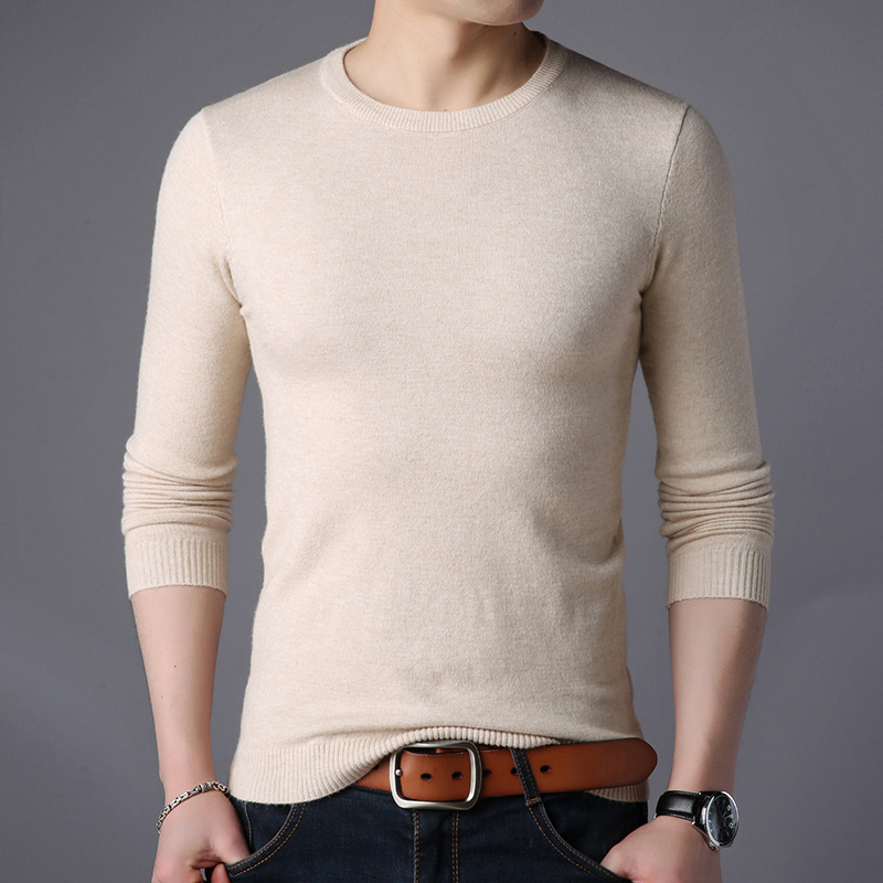 Image 5 - Free shipping New Fashion 2019 Spring Autumn men Wool Pullovers Man Sweaters Pullover-in Pullovers from Men's Clothing