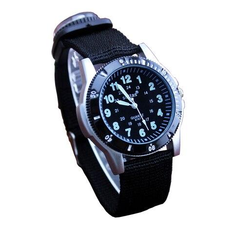 2018 new canvas children boys fashion watches casual quatrz adjustable bracelet compass gift watches cool handsome watches Multan