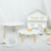 Cloud cake stand wooden dessert table decoration birthday cake plate