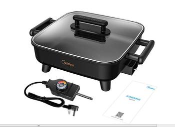Midea Korean style Home Multifunction 6L Hot Pot Frying Machine Electric Stove Cooker Frying Grilled Fish Pan Fry braise stew 6