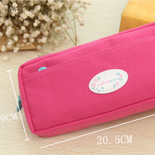 Cute School Pencil Case For Girls Large Capacity Canvas Pencil Bags Multifunction Pencase Storage Manager Stationery