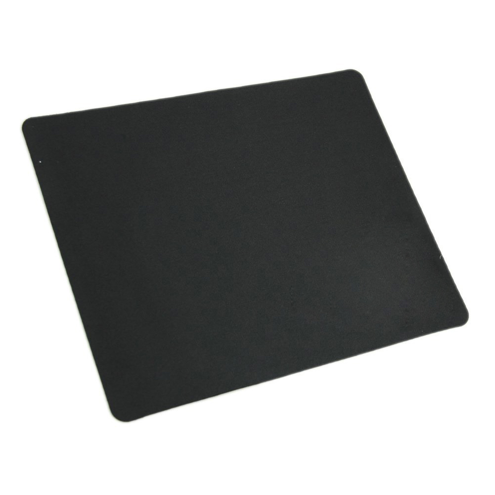 Black Slim Square Mouse Pad Mat Mousepad For PC Optical Laser Mouse Trackball Mice