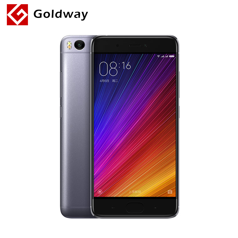 """bilder für Original Xiaomi Mi5s Mi 5 S 3 GB RAM 64 GB ROM Handy Snapdragon 821 Quad Core 5,15 """"zoll 1920x1080 P Ultraschall Fingerprint ID"""