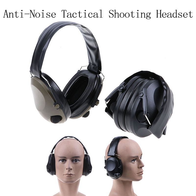 Anti-Noise Tactical Shooting Headset Military Soundproof Earmuff Hunting