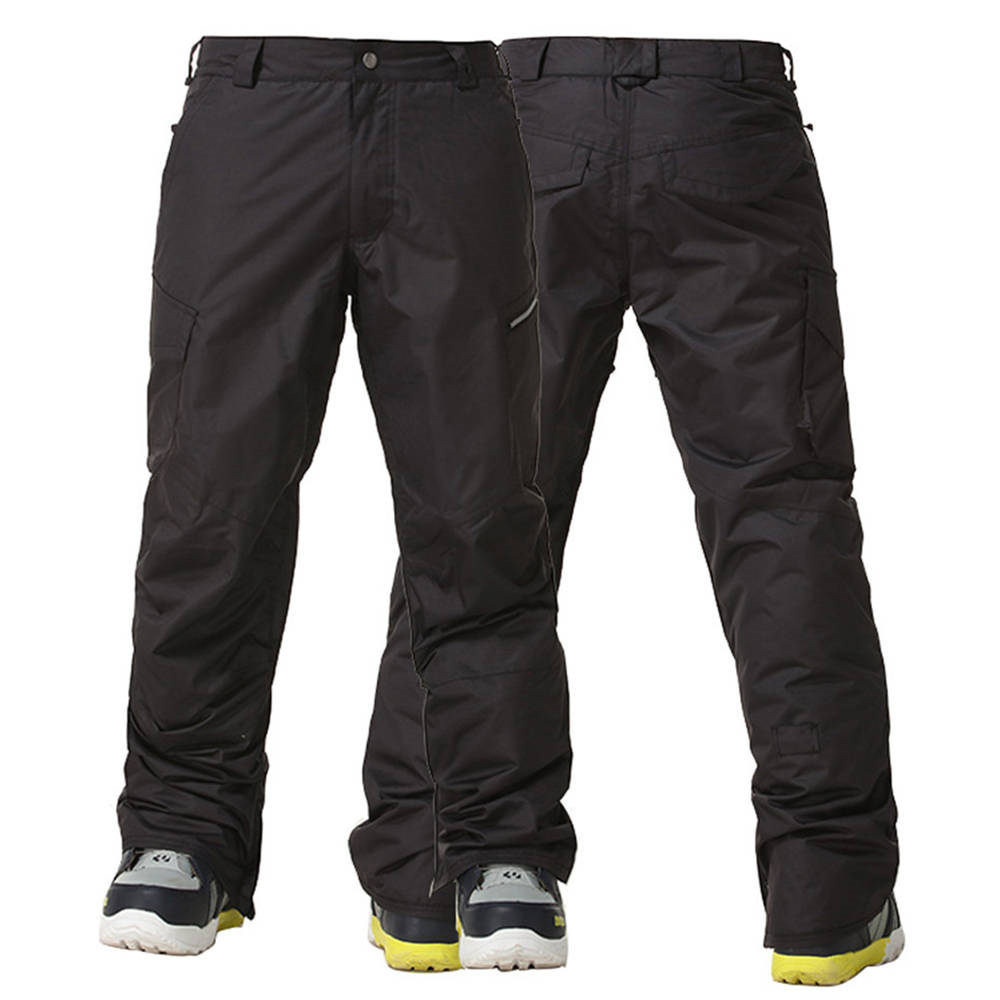 Prix pour Gsou Neige Hommes Pantalon De Ski Imperméable de Snowboard Pantalon Coupe-Vent D'hiver En Plein Air Hommes Neige Pantalon Haute Qualité Sport Ski Vêtements