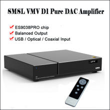 SMSL VMV D1 Desktop USB DAC Audio Amplifier Decoder DAC ES9038PRO DSD DAC Amplifier Balanced output Decodificador