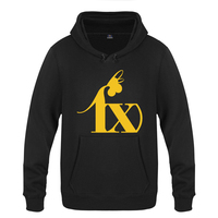 Cool Fx Kpop logo Sweatshirts Men 2018 Mens Hooded Fleece Pullover Hoodies