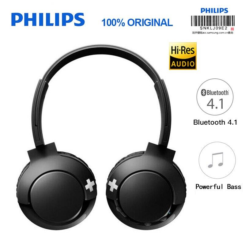Philips Sans Fil Casque SHB3075 Bandeau avec Bluetooth 4.1 Contrôle Du Volume Au Lithium Polymère pour S9 S9 Plus Note 8