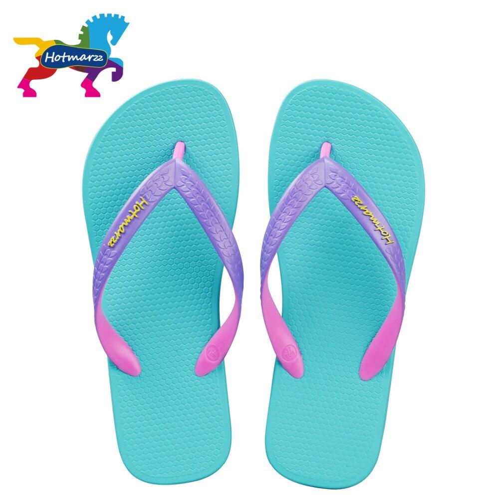 Hotmarzz Women Designer Flip Flops Summer Slippers Fashion Slides Beach Shoes Thong Sandals Ladies Woman House Slippers women slippers summer beach slippers flip flops sandals women pearl fashion slippers ladies flats shoes free shipping
