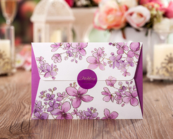 Fast delivery 50pcs lot high quality 185 127mm purple floral paper card invitation cards celebration party.jpg 250x250