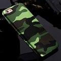 Para os casos de iphone 7 5S 5 camuflagem militar homens de couro do caso da tampa para iphone 7 7 plus para iphone 6 6 s plus 5 5S se couqe Fundas