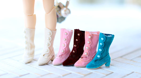Blyth doll shoes riding boots for 1/8 BJD Azone Blyth doll sport casual shoes Handmade leather nap pearl button Blyth doll shoes riding boots for 1/8 BJD Azone Blyth doll sport casual shoes Handmade leather nap pearl button