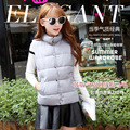 2016 Women Winter Vest Warm Lady Waistcoat Sleeve Less Jacket Female Colete Feminino De Inverno